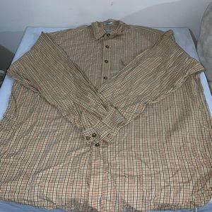 Orvis men's long sleeve shirt XL